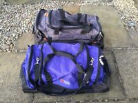 Large Travel (Skiing or Snowboarding) Kit Bag with wheels