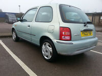 NISSAN MICRA automatic 998cc only 85000 miles .