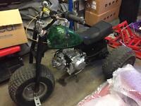 Honda ATC70 trike, quad, bike. Bobber style 72cc