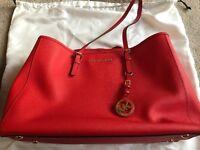 Red Michael Kors shoulder bag