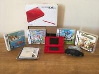 Nintendo DS Lite Red [boxed like new]