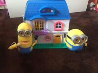 Doll house and minions