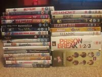 Range of DVDs - musicals, romcoms, box sets