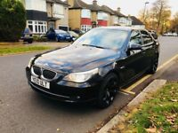 BMW 525D 2010 5 SERIES AUTOMATIC DIESEL VERY LOW MILAGE not GOLF X5 Range Rover or x3