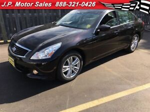 2013 Infiniti G37 X, Automatic, Navigation, Sunroof, AWD