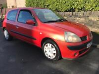 2004 RENAULT CLIO 1.1 EXTREME. ONLY COVERED 95K MILES FROM OVER 11 MONTHS MOT. CHEAP TO INSURE & TAX