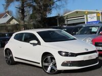 """2011 VOLKSWAGEN SCIROCCO 2.0 TDI GT 2 OWNERS 19"""" ALLOYS 93000 MILES FULL SERVICE HISTORY IMMACULATE"""