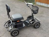 RIDE ON GOLF BUGGY AND TRAILER