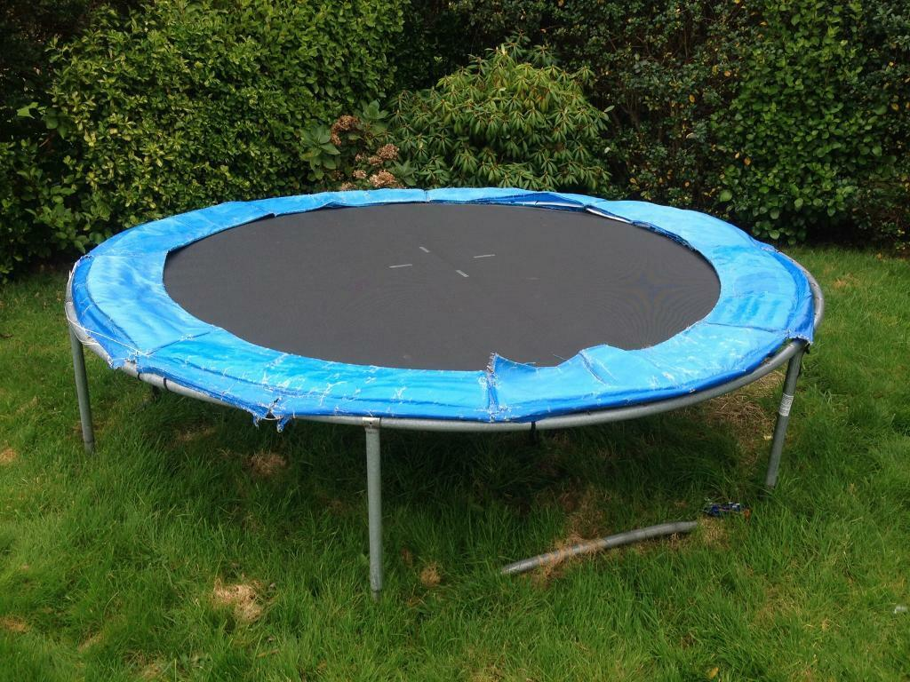 Trampoline large perfect working orfer