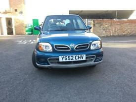 Nissan micra 2002 low mileage good conditions