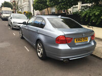BMW 320D EXCLUSIVE (BMW HISTORY, SAT NAV, AUTOMATIC, LEATHER HEATED SEATS)