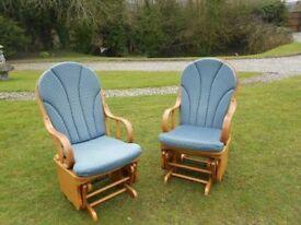 2 Glider Rocking Chairs-------(1 LEFT)-------