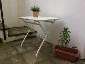 White table, versatile