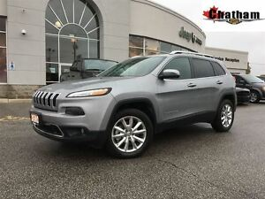 2015 Jeep Cherokee LIMITED/ALL WARRENTY REMAINING./$101 WKLY