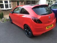 Vauxhall Corsa Limited Edition - Top Specifications