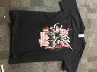 *NEVER WORN*. Official McBusted tour T-shirt 2014