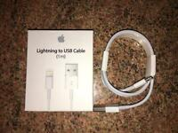 1m Apple lightning cable