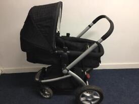 Mothercare my4 my 4 black pram buggy stroller