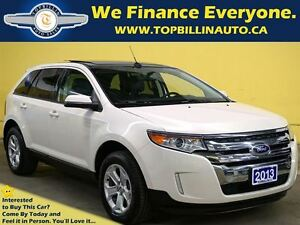 2013 Ford Edge AWD, Navigation, Leather, Roof, Backup Camera
