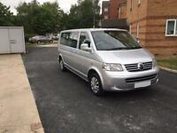 Volkswagen transporter shuttle minibus 1.9 TDI Long wheel base 90000 miles full vw sh 2005