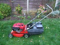 Honda GXV120 petrol lawn mower