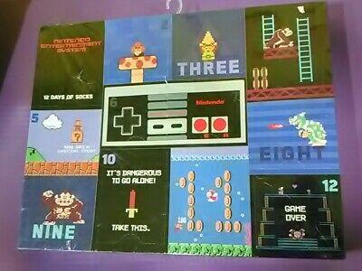 12 Days Of Socks Nintendo Entertainment System NES Mario Zelda Link Bowser Kong