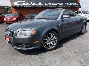 2009 Audi A4 2.0T | CONVERTIBLE | S-LINE | AWD | NO ACCIDENTS