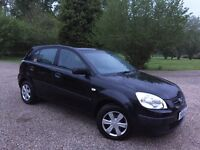 £850 NEW CLUTCH WITH RECEIPT ! KIA RIO 1.5 DIESEL GS CRDI ! 5 DOORS ! 1 FORMER KEEPER FROM NEW! £850