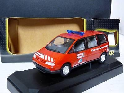 Verem V1108 1/43 Peugeot 806 Fire Marshal Diecast Model Car