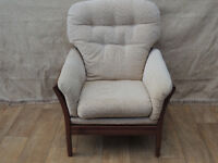 Fabric High back Armchair (Delivery)