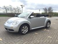 VW BEETLE 1.6 CONVERTIBLE 2006 EXCELLENT CONDITION DRIVES SUPERB