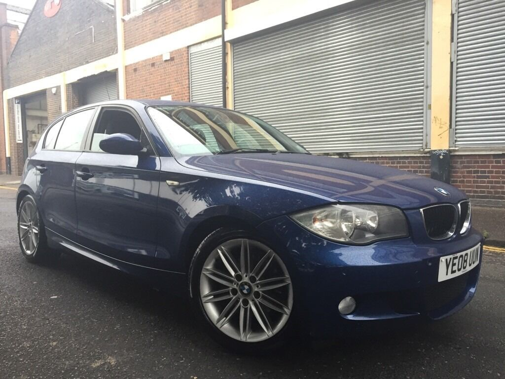 BMW 1 SERIES 2008 2.0 120d M Sport 5 door AUTOMATIC, FULL SERVICE ...