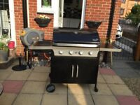 Blooma four burner gas barbeque