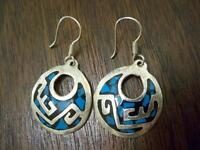 .925 Silver Earrings from MEXICO