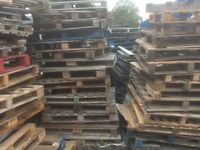 Free wooden pallets - assorted sizes and condition
