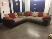 SCS Curved Corner Sofa - Free Delivery Available!