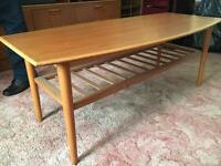Vintage long coffee table