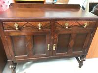 Vintage oak Sideboard FREE DELIVERY PLYMOUTH AREA