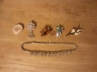 Various bits of jewellery that just need a clean for sale, bargain price at £20 for the lot