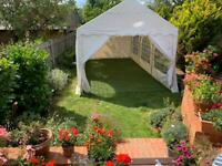 Off White 3x6M Outdoor, Waterproof Marquee PVC 500 m/g2
