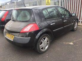 2003 Renault Megane Years Mot half leather drives nice