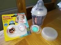 Nuby bottle & Soothers