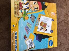 Jake and neverland pirates art easel
