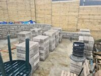 280 Concrete Blocks 6x4x18IN
