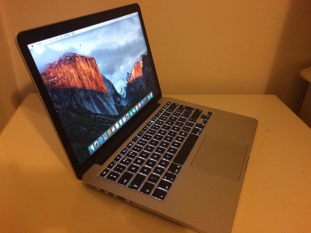 MacBook Pro Retina August 2017 13.3 inch display warranty ...