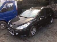 Peugeot 307 estate petrol spare parts available