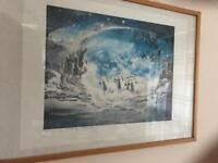 """Print Dr. L Bari """" The Escape Of The White Horses """""""