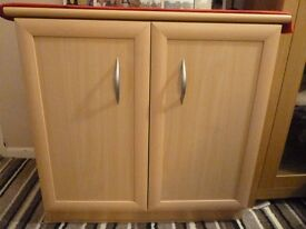 Storage Unit/Cupboard in Maple Finish*Reduced*