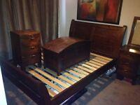 Soild wood bedroom furniture set