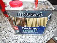 RONSEAL DECKING STRIPPER 2.5 litres